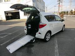 ラクティスG 福祉車両 スロープ 1500CC Rシート付