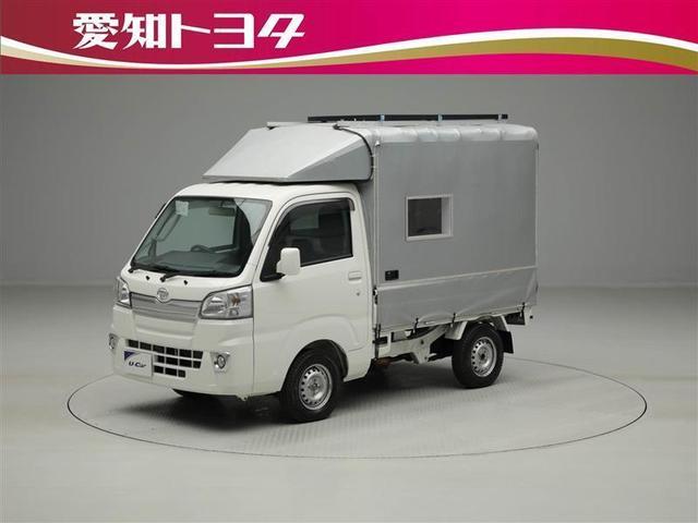 ダイハツ ハイゼットトラック E キャンピングカー キーレス CD メディアプレイヤー接続
