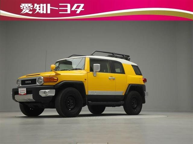 トヨタ FJクルーザー カラーパッケージ 4WD バックモニター メモリーナビ