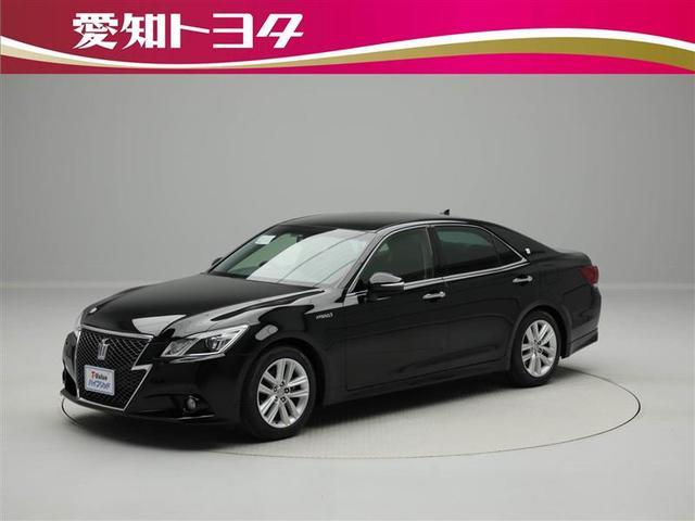 トヨタ アスリートG HDDナビ フルセグ 本革シート スマートキ-