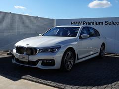 BMW740i Mスポーツ SR 黒革 ACC 衝突軽減B Pアシ