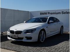 BMW640iグランクーペ デモカー Mスポーツ 黒革 ACC