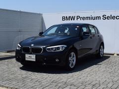 BMW118d スポーツ デモカー 衝突軽減B LED 純正ナビ