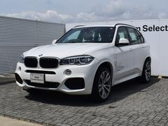 BMW X5xDrive35d Mスポーツ デモカー 黒革 SR ACC