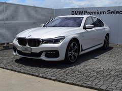 BMW750i Mスポーツ 黒革 SR レーザーライト 20AW