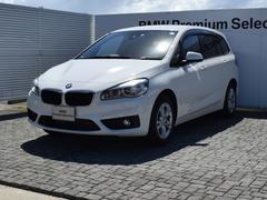 BMW218dグランツアラー 衝突軽減B ナビ Bカメラ フルセグ