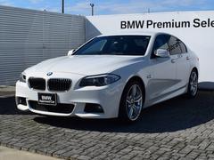 BMW528i Mスポーツ 黒革 純正ナビ フルセグ 19AW