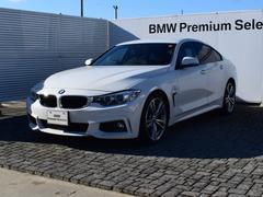 BMW420iグランクーペ Mスポーツ ACC 19AW 純正ナビ