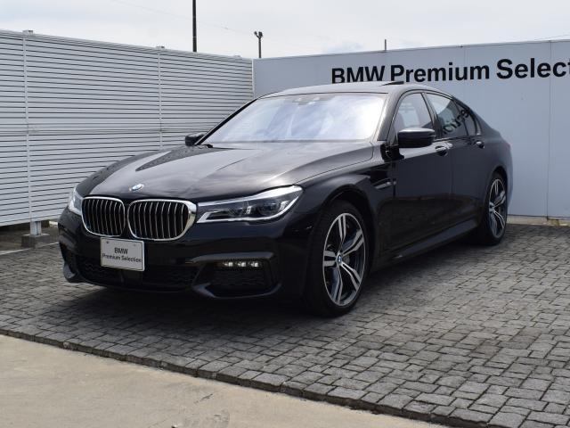 BMW 740d xDrive Mスポーツ デモカー ドラアシ SR
