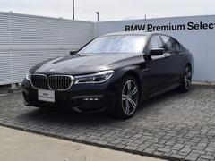BMW740d xDrive Mスポーツ デモカー ドラアシ SR