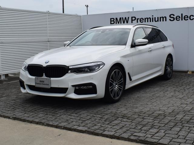 BMW 523dツーリング Mスポーツ 黒革 ドラアシ HUD