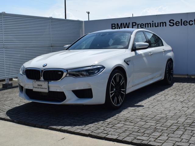BMW M5 デモカー 左H 黒革 ドラアシ ソフトクローズドア