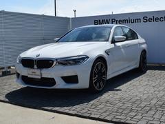 BMW M5M5 デモカー 左H 黒革 ドラアシ ソフトクローズドア