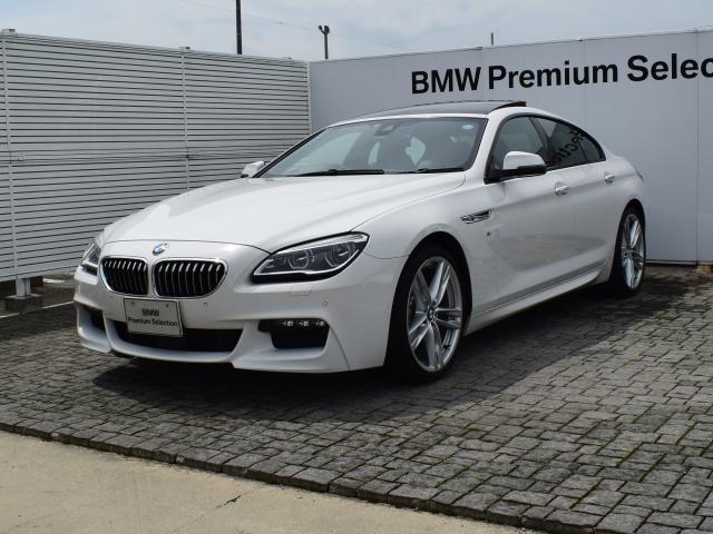 BMW 640iGC デモカー Mスポーツ 黒革 SR HUD