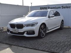 BMW750i Mスポーツ ベージュ革 SR ドラアシ 20AW