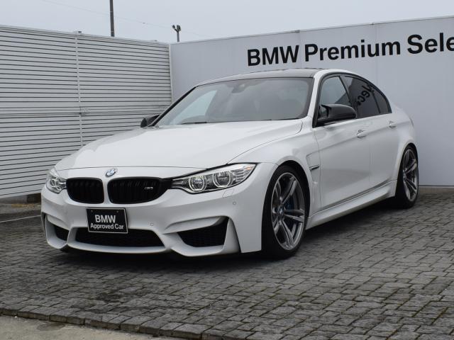 BMW M3 M3 車検整備付 黒革 Kw車高調 純正サス有 カーボントランクスポイラー カーボンインテリアトリム ヘッドアップディスプレイ フルセグTVチューナー 純正ナビ バックカメラ Fシートヒーター 19AW