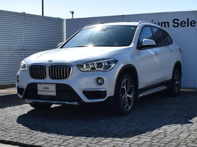 BMW xDrive 18d xライン ワンオーナー ブラウンレザー アクティブクルーズコントロール ヘッドアップディスプレイ 純正ナビ 衝突軽減ブレーキ パーキングアシスト バックカメラ ウッドトリム フロントシートヒーティング 18AW
