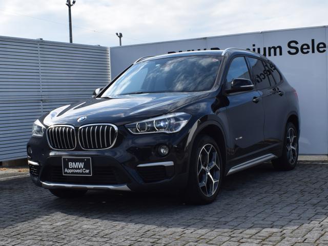 BMW sDrive 18i xライン ワンオーナー ブラウンレザー 衝突軽減ブレーキ 純正ナビ パーキングアシスト フロントシートヒーター 電動リアゲート ウッドトリム フィルム施工有 CDスロット有 社外品ドライブレコーダー 18AW