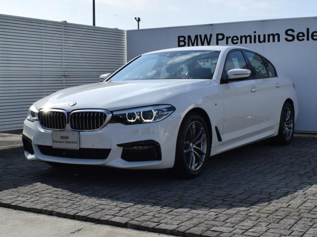 BMW 523d xDrive Mスピリット 弊社デモカー エコカー減税対象車 4WD アクティブクルーズコントロール ヘッドアップディスプレイ 衝突軽減ブレーキ HiFiスピーカー フルセグTVチューナー ステアリングサポート 18AW
