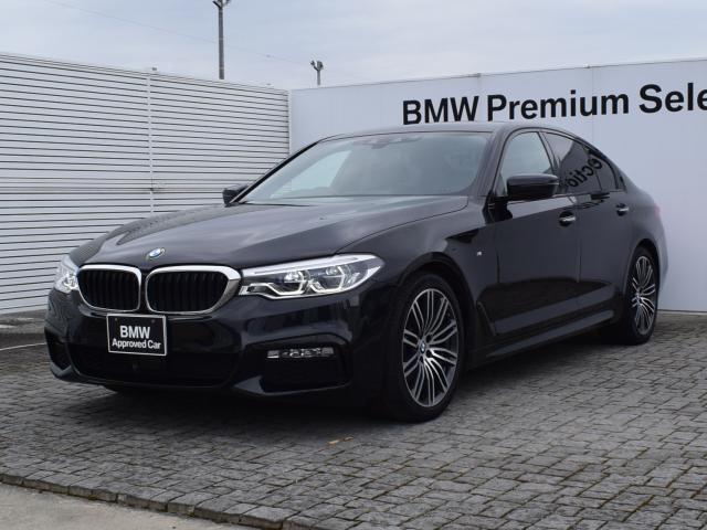 BMW 523d Mスポーツ ワンオーナー エコカー減税対象車 アクティブクルーズコントロール 衝突軽減ブレーキ アダプティブLEDヘッドライト フルセグTVチューナー 全周囲カメラ 電動リアゲート パーキングアシスト 19AW