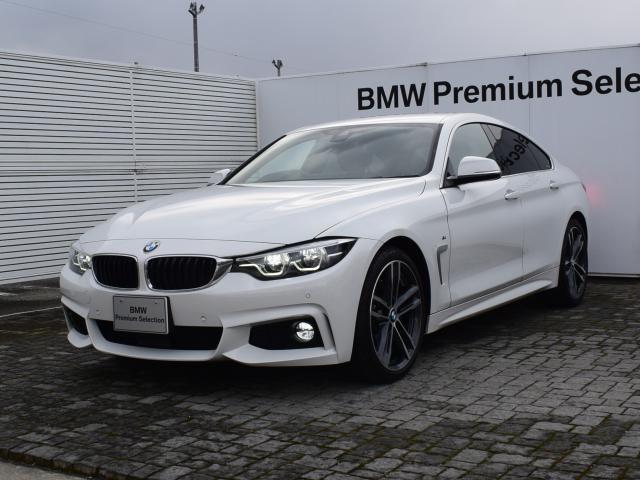 BMW 420iグランクーペ イン スタイル スポーツ 限定車 アクティブクルーズコントロール 純正ナビ フルセグ バックカメラ サテンアルミモール アダプティブMサスペンション Mスポーツブレーキ ダコタレザーシート ヘッドアップディスプレイ 19AW