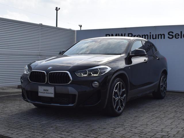 BMW sDrive 18i MスポーツX コンフォートパッケージ・純正ナビ・純正リアビューモニター・衝突軽減ブレーキ・SOSコールシステム・電動リアゲート・フロントシートヒーター・ETC2.0・ガラスフィルム施工・19AW