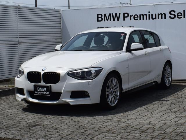 BMW 1シリーズ 116i Mスポーツ 純正HDDナビ 社外ETC車載器 SOSコール CDスロット USB/AUX ミュージックサーバー キセノンヘッドライト オートライト&オートワイパー 17AW