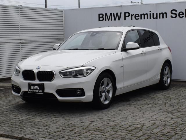 BMW 118i スポーツ 純正ナビ バックカメラ 後方PDC クルーズコントロール 衝突軽減ブレーキ SOSコール CDスロット Bluetooth/USB/AUX LEDヘッドライト 社外ドラレコ ETC2.0 16AW