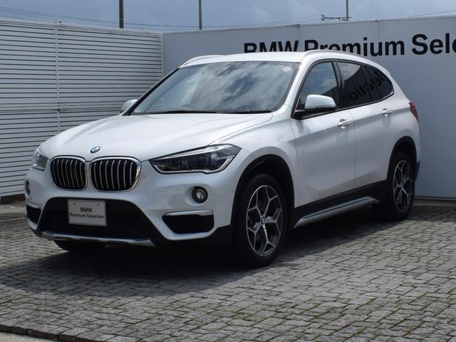 BMW X1 sDrive 18i xライン 純正ナビ バックカメラ フロントシートヒーター 前後PDC 電動リアゲート SOSコール Bluetooth/USB 社外ドラレコ ETC2.0 LEDヘッドライト 18AW