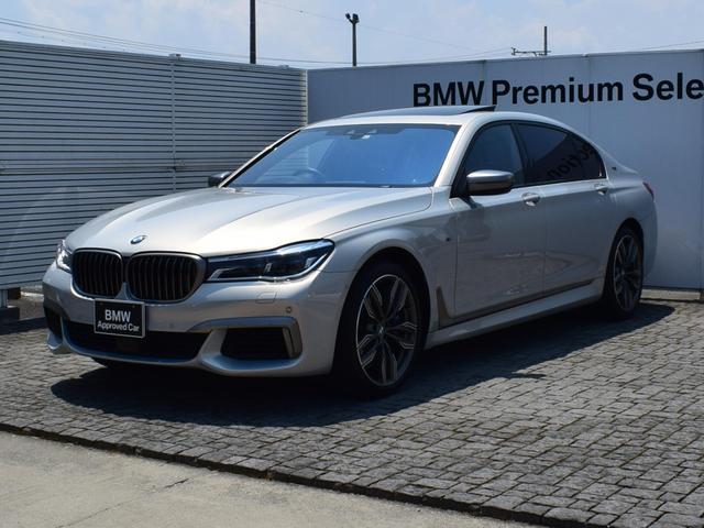 BMW 7シリーズ M760Li xDrive V12 茶革 スカイラウンジパノラマサンルーフ ドラアシプラス ナイトビジョン  バックレスト独立型モニター BOWERS&WILKINSダイヤモンドサウンド FRベンチレーションシート 20AW