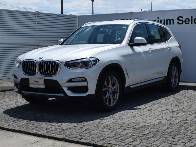 BMW X3 xDrive 20d Xライン モカ革 ドライバーアシストプラス パーキングアシストプラス 純正FRドラレコ 純正ナビ 全周囲カメラ Fシートヒーター フルセグ CDスロット 電動Rゲート Bluetooth ETC2.0 19AW