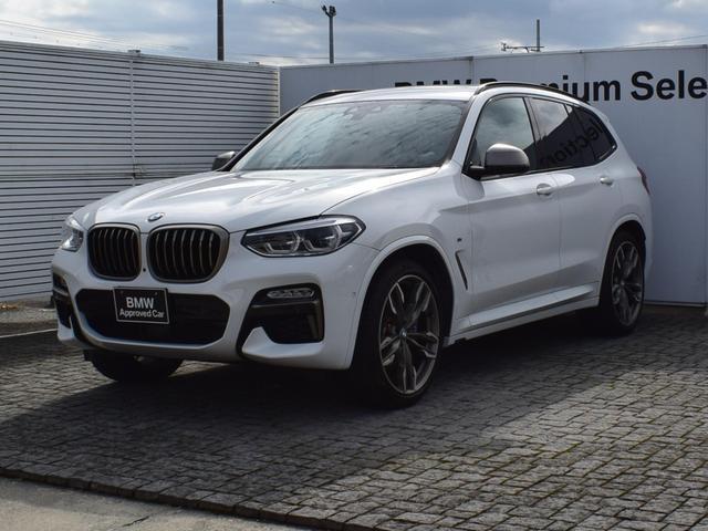 BMW X3 M40d 黒革 パノラマサンルーフ ドラアシプラス ヘッドアップディスプレイ 純正ナビ 全周囲カメラ ウッドトリム FRシートヒーター リアシートアジャスト Bluetooth/USB ETC2.0 21AW