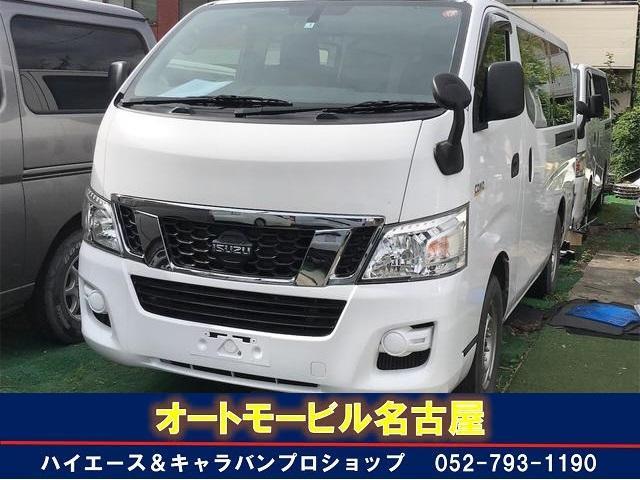 いすゞ コモ ロングLD 両側スライドドア TV ナビ 4WD ETC