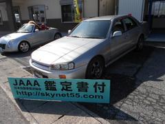 スカイラインGT ローダウン 32GTR純正アルミ新品タイヤ付