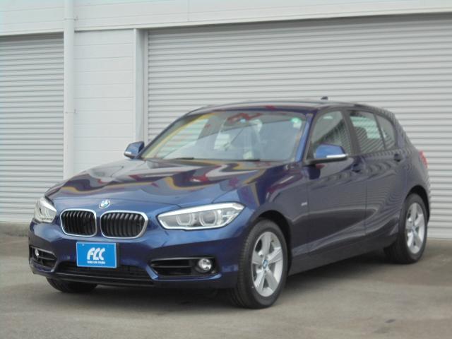 BMW 118d スポーツ クリーンディーゼル 純正ナビ