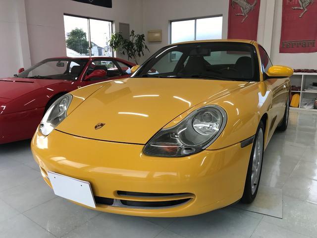 ポルシェ 911カレラ 996カレラ 6MT 社外マフラー