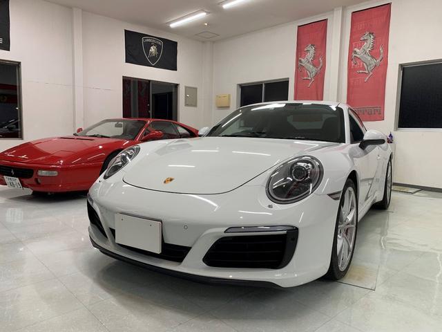 ポルシェ 911カレラS スポーツクロノPKG ディーラー車 右ハンドル
