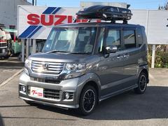 N BOXカスタムナビ 軽自動車 4WD ポリッシュドメタルメタリック