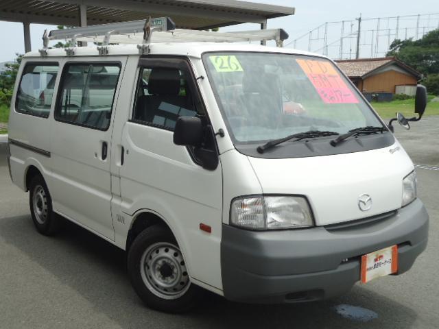 マツダ ボンゴバン DX 5MT 5ドア 5人乗り 2WD 集中ドアロック 前後同サイズタイヤ フロントパワーウィンドゥ