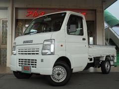 キャリイトラックKC エアコン パワステ エアバック ワンオーナー 4WD