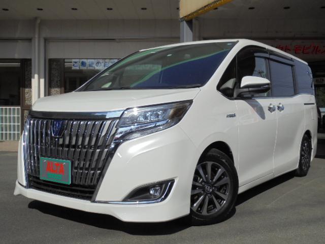トヨタ ハイブリッドGi プレミアムパッケージ ナビTV Bモニター 両側パワスラ シートヒーター LEDヘッドライト