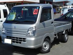 キャリイトラックKCエアコン・パワステ農繁仕様 4WD5MT 届出済未使用車