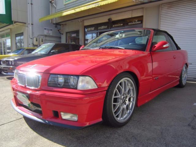 BMW 328iカブリオーレ BBS18AW 5速MT ガルウィング