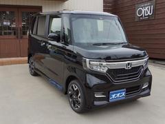 N BOXカスタムG・EXターボホンダセンシング 4WD スマートキー ETC