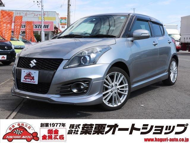 「スズキ」「スイフトスポーツ」「コンパクトカー」「愛知県」の中古車