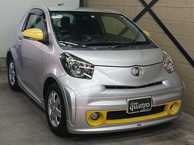 トヨタ iQ 100G レザーパッケージ モデリスタエアロ
