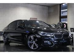 BMW740Ld xDrive Mスポーツ リアエンターテイメント