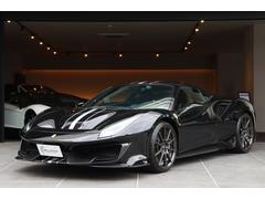 488ピスタベースグレード 正規D車 禁煙車 カーボンホイール サスペンションリフター カーボンエクステリア カーボンインテリア