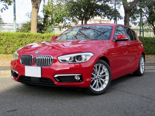 BMW 118i ファッショニスタ 限定車 ベージュ本革シート シートヒーター ACCアクティブクルーズコントロール コンフォートアクセス HDDナビ バックカメラ パークディスタンスコントロール 前後ドラレコ 禁煙車