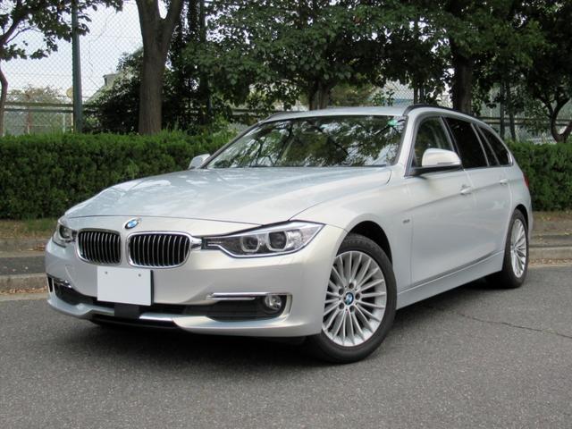BMW 320dツーリング ラグジュアリー BMW Individual特別仕様車 専用ボディカラー ブラウンレザー ACCアクティブクルーズ ナビ・TV オートトランク